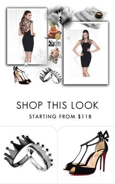 """robe de cocktail-homecoming dress-123"" by sophie-robelle on Polyvore"