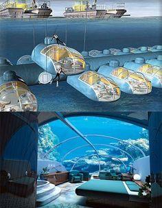 Amazing Underwater Suite, Roseidon Resort - Fiji