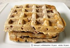 Wilson gofriban is süthető palacsintája Sweet Recipes, Cake Recipes, Apple Pie, Smoothies, Pancakes, Sandwiches, Food And Drink, Easy Meals, Sweets