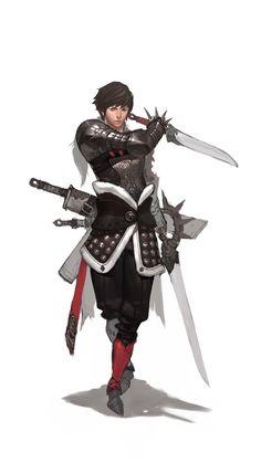 Armadura Espadachim Melhora que pode ser adicionada a um Wizz Usuário ganha uma bela defesa e poder guardar espadas que foram cartadas durante a batalha