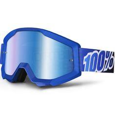 1f4dd9419fb 100% Strata Goggles - Blue Lagoon Mirror Lens