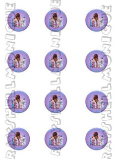 Doc Mcstuffins Cupcake Toppers/Stickers