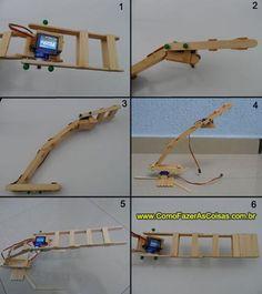 Guincho robótico parte 7