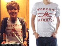Ashton Irwin: Weekend Warrior Tee (Jawbreaking) Exact *DIY into muscle tee