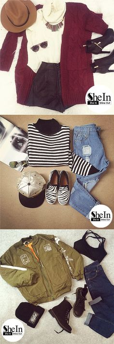 Effortlessly chic.  -SheIn