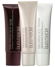 Laura Mercier. Love her tinted moisturizers. Lightweight and non-greasy, lasts all day and makes your skin flawless. Sunscreen too!