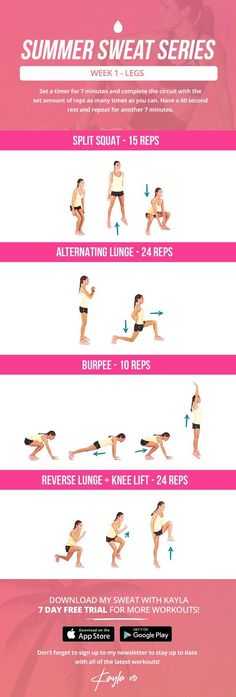 Part 2: LEG DAY! Kayla Itsines | Work out | Sweat | Fitness | Fit | Sacred Tusk