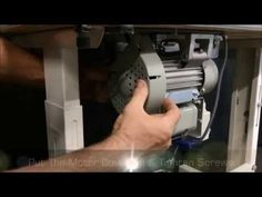 Changing a Clutch Motor to a Servo Motor by Sewing Machines Australia (SMA) - YouTube