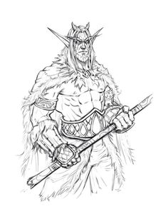 Download World of Warcraft Orc coloring pages | Coloring ...