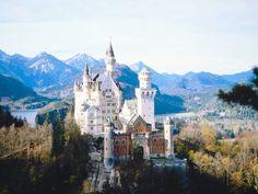 Schloss Neuschwanstein. Disney. Deutschland. Germany