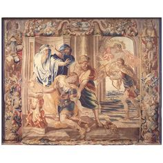 Antique 17th Century Brussels Achilles Tapestry by Peter Paul Rubens & Jan Raes