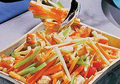 Salada colorida: