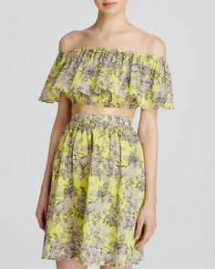 Lucy Paris Top - Bloomingdale's Exclusive Floral Off-The-Shoulder