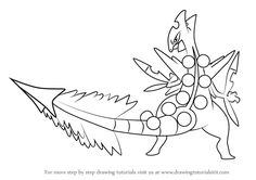 Learn How to Draw Mega Sceptile from Pokemon (Pokemon) Step by Step : Drawing Tutorials Mega Mewtwo, Pokemon Pokemon, Learn Drawing, Learn To Draw, Pokemon Coloring Sheets, Pokemon Painting, Drawing Tutorials, Dragon Ball Z, Easy Drawings