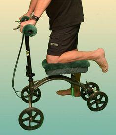 Australian Sheepskin Apparel - Knee Walker Pads - x - Wheelchair Grips Medical, Medicine, Med School, Active Ingredient