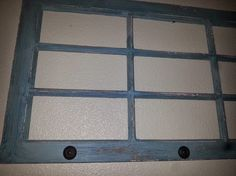 Hey, I found this really awesome Etsy listing at https://www.etsy.com/listing/198995437/turquoise-large-old-window-frame-wall
