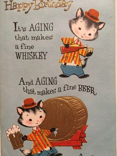 A personal favorite from my Etsy shop https://www.etsy.com/listing/502124772/vintage-birthday-card-unused-mid-century