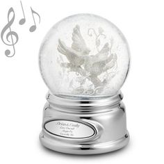 Personalized Shimmering Brilliance Butterfly Musical Water