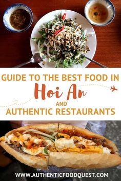 This guide to the best food in Hoi An takes you on a culinary journey through the local specialties not to miss.  Hoi An consistently ranks amongst the top destinations for food in Asia.   The food in Hoi An has multicultural influences and a unique local food culture.