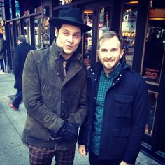 Oh you know, just Bryant and Jack White after an interview with CBS This Morning talking about Third Man Records' 'The Rise And Fall Of Paramount Records' box set.