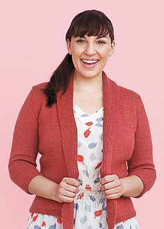 Ravelry: Draper Vest and Cardigan pattern by Amy Herzog  Knit to Flatter is available on the book wall
