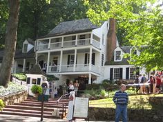 Michie Tavern, Charlottesville, Virginia Recently, when my parents were visiting from Hawai'i, we drove out to beautiful Charlottesville, Virginia. Our main objective was lunch at…
