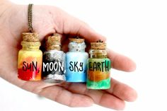 Cheap Crafts To Make and Sell - Element Jar Necklace - Inexpensive Ideas for DIY Craft Projects You Can Make and Sell On Etsy, at Craft Fairs, Online and in Stores. Quick and Cheap DIY Ideas that Adults and Even Teens Can Make on A Budget http://diyjoy.com/cheap-crafts-to-make-and-sell