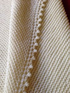 Free knitting pattern for Cambria Baby Blanket and more easy baby blanket knitting patterns