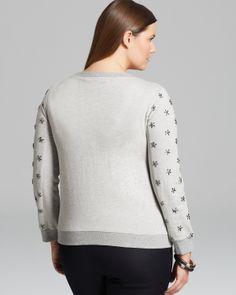 Marina Rinaldi Plus Oblativo Sweatshirt   Bloomingdale's