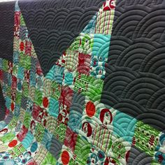 BRRR!!! Awesome quilt by the fantastic @poppyprint and quilted by @lolablueocean, via Flickr