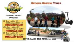 """Shaping The Verde Valley: Sedona Segway """"SPRING FLING"""" Pricing!....."""