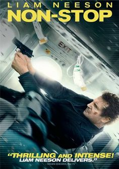 Liam Neeson stars in the edge-of-your-seat action thriller 'Non-Stop', coming to DVD and Blu-ray on Tuesday, June 10, 2014. Additional cast: Julianne Moore, Michelle Dockery, Lupita Nyong'o, Scoot McNairy, Linus Roache, Corey Stoll, Anson Mount, Nate Parker.