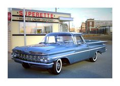 1959 El Camino Maintenance/restoration of old/vintage vehicles: the material for new cogs/casters/gears/pads could be cast polyamide which I (Cast polyamide) can produce. My contact: tatjana.alic@windowslive.com