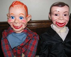 Ventriloquist Dummy Doll Puppets Howdy Doody, Charlie McCarthy
