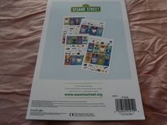 Seim's Awareness N Thrift - Stickerland - Sesame Street Sticker Book, $5.00 (http://www.seimsawarenessnthrift.com/stickerland-sesame-street-sticker-book/)