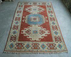 7'x11' Large Bohemian Rug Turkish Carpet by RugToGo on Etsy