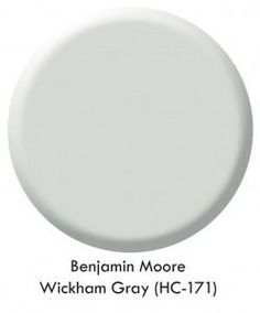 benjamin moore wickham grey hc 171 - Great for spaces with little natural light