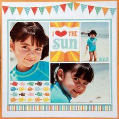 I LOVE THE SUN - Scrapbook.com