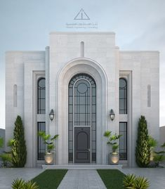 Architecture Building Design, Architecture Images, House Elevation, Front Elevation, Front Entrances, House Front, Luxury Villa, Art Deco, Backyard