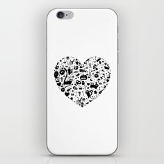Halloween Heart iPhone & iPod Skin