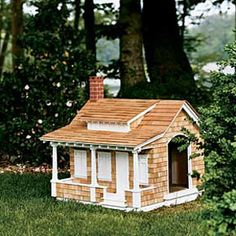 Craftsman Dog House: 5 Doghouses Crafted in Classic American Architecture by Jason Carpenter & Thomas Baker, This Old House magazine.