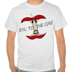 Evil To The Apple Core Tshirt