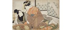 One of the foremost collections of erotic art in the form of Shunga makes waves in Vienna, at the MAK, leading visitors through its aesthetic shifts. Erotic Art, Japanese Art, Waves, Artwork, Painting, Google Search, Vienna, October, Collections