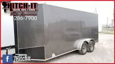 7 X 16 LARK ENCLOSED TRAILER Hitch It Trailers Sales, Parts, Service & Truck Accessories 5866 S. 107th E. Avenue Tulsa, Oklahoma 74146 918-286-7900  #HitchIt #TrailerSales #TrailerService #TrailerParts #TruckAccessories #YourTrailerShop #Tulsa #Oklahoma Trailer Sales Trailer parts Trailer service repairs Truck accessories ONLY Oklahoma United Manufacturing Dealer NE Oklahoma Continental Cargo, Lark United and Tiger Trailers Dealer.  We sell  Enclosed Cargo Trailers & Race Trailers Landscape…