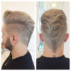 nice 45 Incredible Sexy Faux Hawk Fade Haircuts - New in 2016 Check more at http://machohairstyles.com/best-faux-hawk-fade-haircuts/