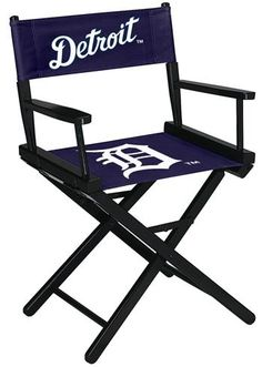 Detroit Tigers Director's Chair - Table Height