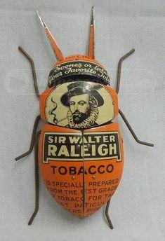 Tobacco can bug art