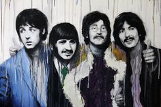 """""""The Beatles"""" by Denise Esposito #beatles #art"""