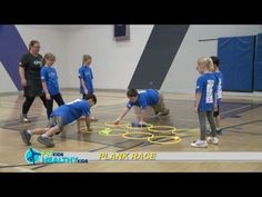 Plank Race Great way to work on core strength and balance