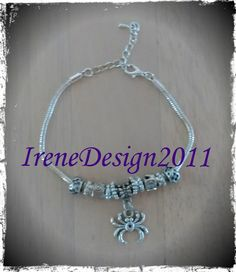 Handmade Sterling 925 Bracelet with Silver Beads by IreneDesign2011